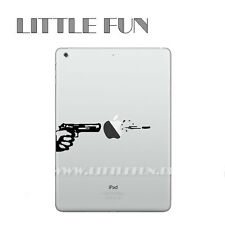 iPad Air Aufkleber Sticker Skin Decal Schutz für iPad Air1 iPad Air2 Pistole B11