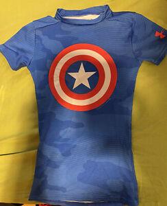 Under Armour Captain America YXS