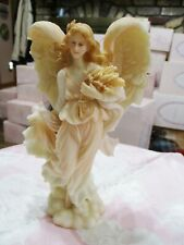 1997 Roman Seraphim Classics Angel – Heather - Retired –7.5� High #78088