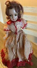 "Original Vintage 13"" Nancy Arranbee R&B Composition Doll Very Old"