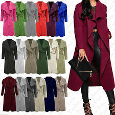 Polyester Patternless Long Jumpers & Cardigans for Women