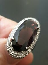 millionaire gorgeous stunning high-class amethyst ladies ring size 7 us