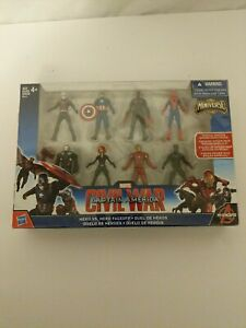 MINIVERSE Captain America Civil War Hero Vs Hero FaceOff Figures Avengers Marvel