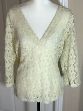 Old Navy - Ivory Lace Top - Size XXL