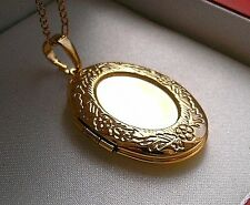REAL 18ct GOLD LOCKET CHAIN GF SELLING OUT FAST!!! from 9ct-gold-uk 94