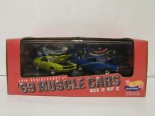 1998 30th Anniversary Hot Wheels 1969 Muscle Car Series I 2 Car Set Lmt. Ed.