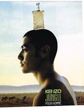 publicité advertising  1998    KENZO  parfum pour homme Jungle