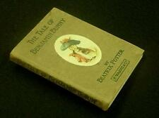 POTTER, BEATRIX: The Tale of Benjamin Bunny.  First Edition. 1904.