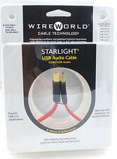 WireWorld StarLight USB 0.3 meter USB A-B Wire World