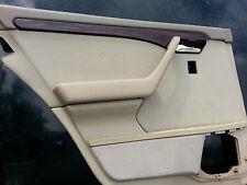 1994-97 Mercedes W202 C220 C230 C280 Driver Side Left Rear door panel cover TAN