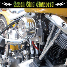 MOON HOTROD AIR CLEANER LOUVERED CHOPPER SUPER E G MOTORCYCLE CV HARLEY S&S