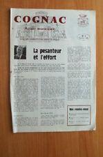 COGNAC action municipale n° 3 février 1981