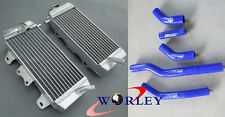 YAMAHA YZF250 YZ250F 2006 06 / WR250F WRF250 2007-2009 aluminium radiator + hose