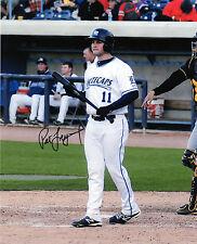 Pat Leyland auto signed photo Whitecaps Detroit Tigers prospect Jim eyland son