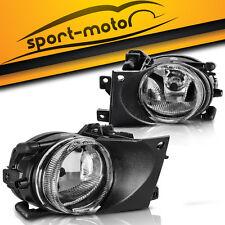 for 2001 2002 2003 BMW E39 525i 530i 540i Clear Bumper Fog Light Lamp+Bulbs PAIR