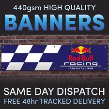 Redbull Racing, Garage, Man Shed Cave Workshop PCV Vinyl Banner Full colour