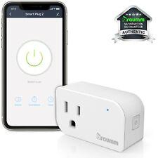 1x Wifi Smart Switch Plug Tomada De Parede Soquete Luz Alexa Google Para Casa Trabalho Remoto