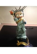 Betty Boop Miss Liberty Millennium 2000 Danbury Mint By Syd Hap Euc