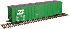 "Burlington Northern Rr Afc 50' 6"" Boxcar By Atlas Trainman - Ready To Run!"