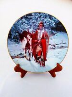 "Chuck Ren Art The Last Warriors Plate Collection ""Winter of '41"" 1993 Hamilton"