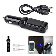 Car Music MP3 Player Wireless Bluetooth Handsfree Transmitter Radio USB Charger
