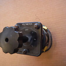 Electroswitch Series 24 2405C 7521 rotary Voltmeter switch relay