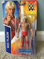 Mattel WWE Heritage Series Ric Flair #20 Wrestlemania Cheap Intl Ship