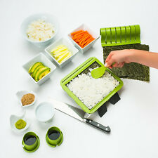 Sushiquik Sushi Making Kit Super Easy Rice Roller Maker Mat Kitchen Mold DIY