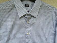 "Paul Smith LONDON LS check Shirt Classic  fit  17 / 43  - p2p 22.5"""