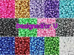 *3 FOR 2*   100 9x6mm Pearl Barrel Highest Beautiful Quality Pony Beads