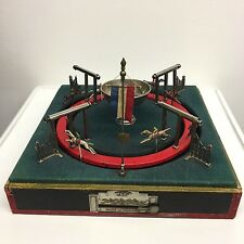 LA2/57 * JEP Early French Roulette Style Horse Race Game for Betting toy Antique