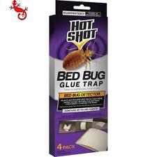 Hot Shot Bed Bug Glue Trap Detector 4 Count