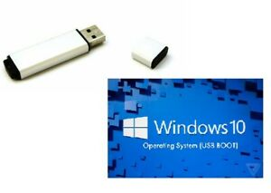 Windows-10 21H1 Bootable Media 32Gb USB ready to upgrade & Clean Installation