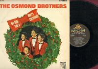 Osmond Brothers - We Sing You A Merry Christmas 4187 Vinyl LP Record