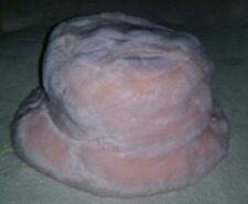 Super Soft Plush Pink Baby Hat