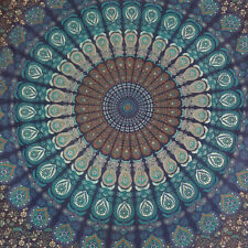 Indian Mandala Elepant Tapestry Wall Hanging Gypsy Bedspread Beach Mats Cover Up
