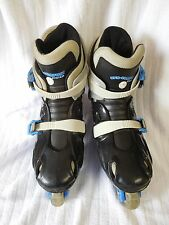 UFX-COMFORT SYSTEM Kids Roller Blades - 4 Wheels & 2 Stoppers - Sz. 4 - PREOWNED