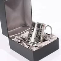 Grandson Gift - Pewter Mug With Grandson Engraving C3059GSGB