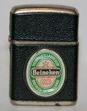 Vintage 1960s Revolt Advertising Lighter - Heineken Beer