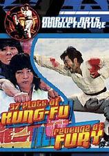 37 Plots of Kung Fu / Revenge of Fury (DVD, 2003) Martial Ar  (New & Sealed)