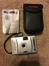 BELL + HOWELL FOCUS FREE 28 mm FILM CAMERA W/ MATCHING CASE & WRIST STRAP