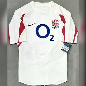 Nike England Rugby Union 2006/07 Player Issue Home Jersey. BNWT, Size M.