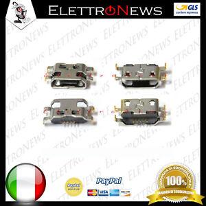 Connettore di ricarica micro usb spinotto di ricarica per Wiko Raimbow Lite A004