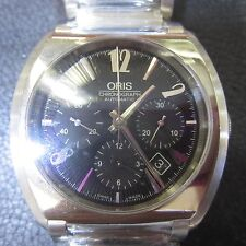 ORIS SWISS MEN'S WATCH AUTOMATIC CHRONO SAPPHIRE ALL S/S ORIGINAL 6767574406 NEW