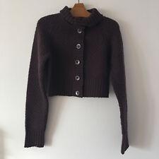 Patagonia Women's Purple & Blue Color Block 100% Wool Sweater Sz S #110