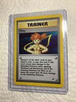 Misty - 18/132 - Holo Rare - Gym Heroes - Pokemon Card EXC/NEAR MINT