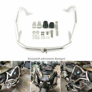 Upper Engine Guard Crash bar extension tank bumper for BMW R1250GS Adventure GSA