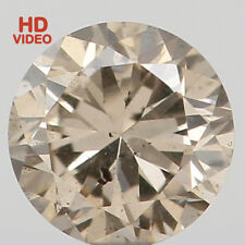 Natural Loose Diamonds Cut Round SI2 Clarity Brown Color 3.20 MM 0.13 Ct N6284