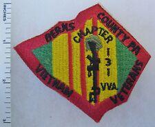 VIETNAM WAR VETERANS BERKS COUNTY PENNSYLVANIA PATCH VVA Chapter 131