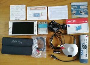 Archos AV700 Mobile DVR with original equipment & guides